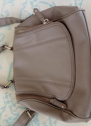 Beden Bej rengi omuz çantası