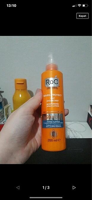 Roc 50 spf güneş koruyucu nemlendirici