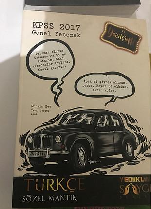 2017 kpss gk gy türkçe sözel mantık açıklamalı soru kitabı.
