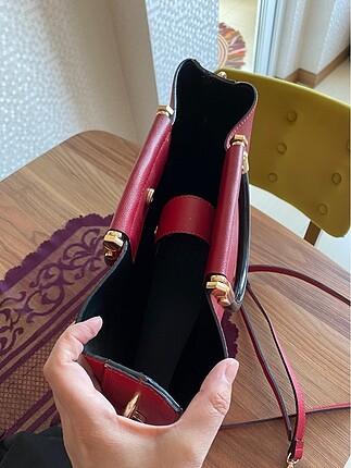 Beden bordo Renk Kırmızı Çanta