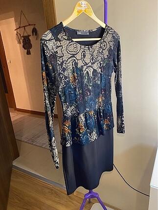 Batik Kadife Elbise