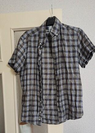 Erkek gömlek ekoseli gömlek