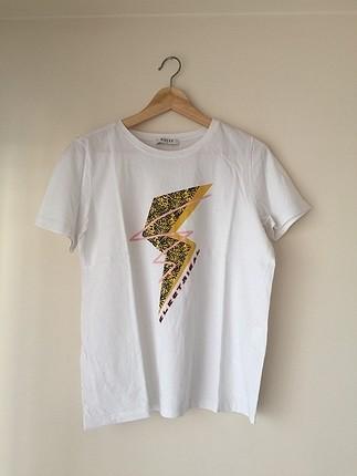 Pieces Beyaz tişört