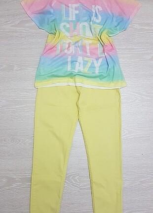 Öyk? fashion sari pantolo