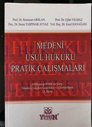 Az kullanılmış, lekesiz, çiziksiz, Yetkin Yayınları, Medeni Usul