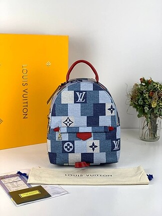LOUIS VUITTON ?PALM SPRING DENIM BLUE?