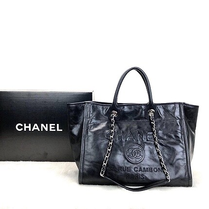 Chanel Glazed Deauville Tote Bag!