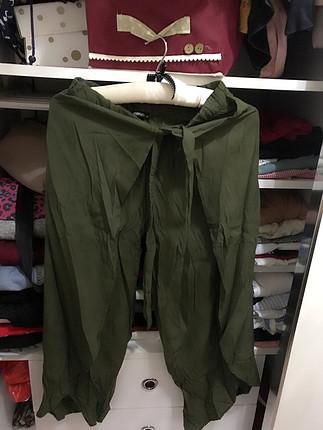 Pantolon yanlar açılıyor