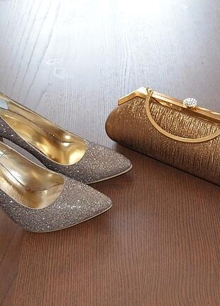 Ayakkabı çanta kombin