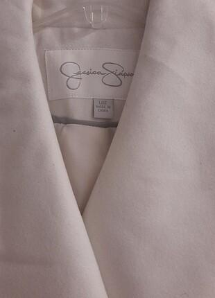Beyaz Kaşe Kaban (sıfır ürün)