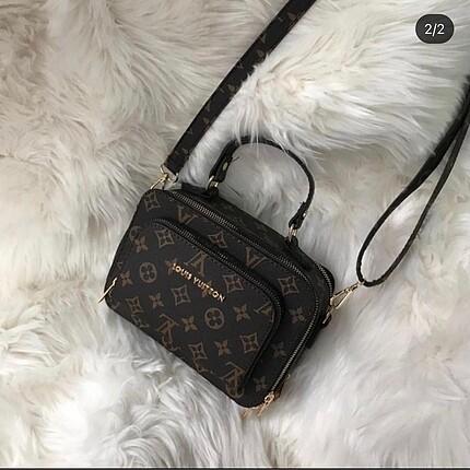 3 bölmeli çanta