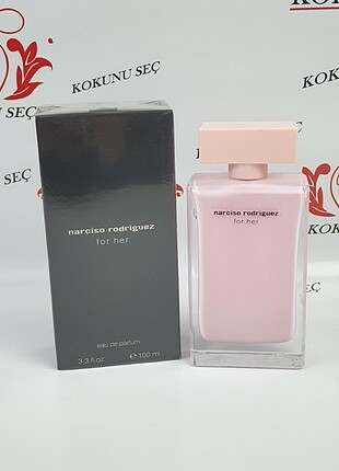 narciso Rodriguez for her edp 100 ml bayan tester Parfüm