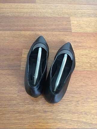 39 Beden siyah Renk #bambi#4cm topuk#