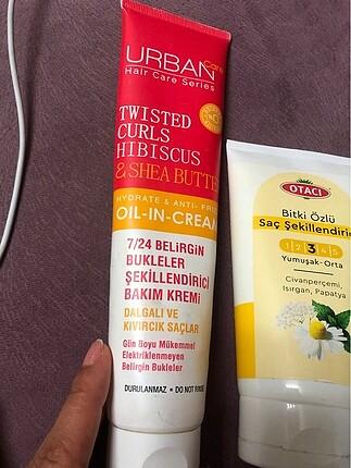 Urban Care Kıvırcık saç şekillendirici 3 lü fiyat