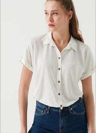 Mavi Jean Kadın Gömlek
