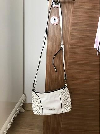 Derimod beyaz çanta