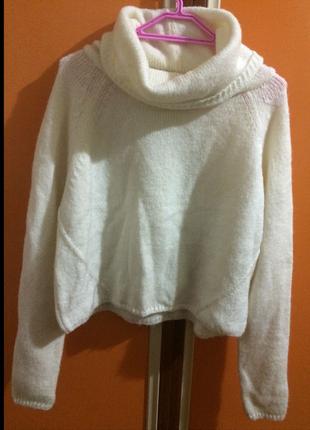 Kışlık boğazlı triko kazak