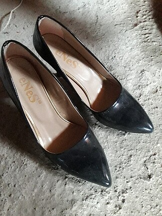Kadı lugon topuklu ayakkabi
