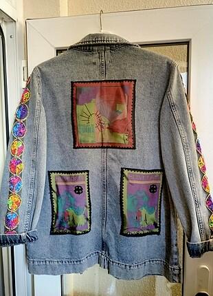 Özel tasarım kot ceket