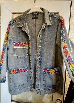 Trendyol & Milla Özel tasarım kot ceket
