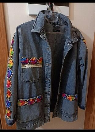 l Beden çeşitli Renk Özel tasarım kot ceket