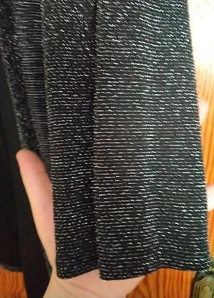 46 Beden siyah Renk Simli ceket