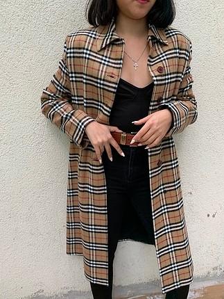 Vintage Burberry Kase Palto