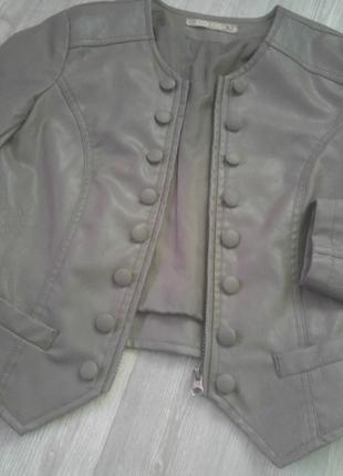Çok tarz mini deri ceket***