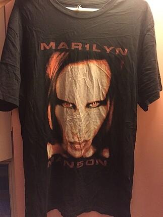 Marılyn manson tişört