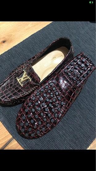 Louis vuitton timsah derisi ayakkabı