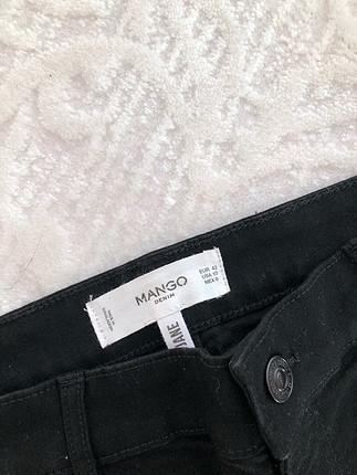 42 Beden Mango yüksek bel pantolon