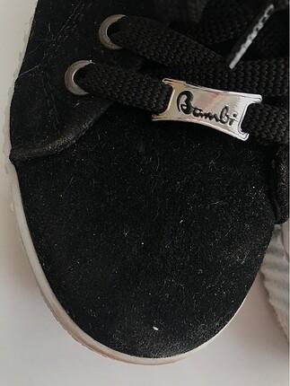 37 Beden Bambi siyah Ayakkabı