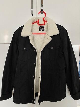 İçi yünlü kot ceket