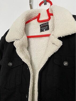 H&M İçi yünlü kot ceket