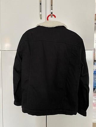 m Beden siyah Renk İçi yünlü kot ceket