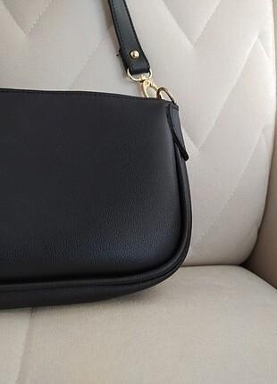 Beden siyah Renk Siyah kol çantası