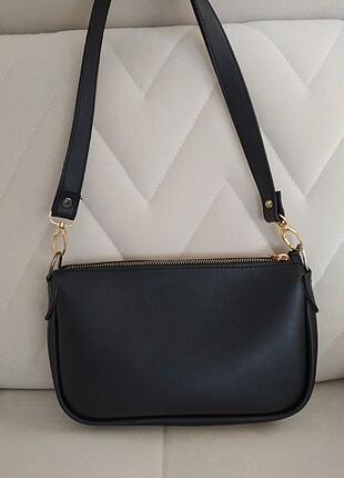 American Vintage Siyah kol çantası