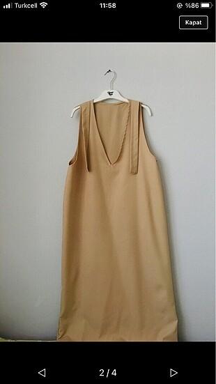 Adidas uzun elbise