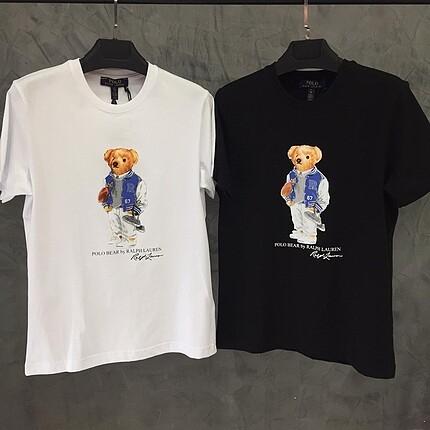 Ralph Lauren Baskılı Unisex T-Shirt
