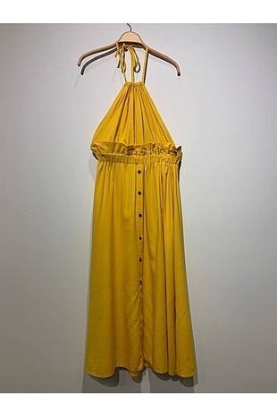 Sarı elbise PRIMEDAYS