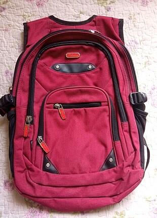 Bordo sırt çantası