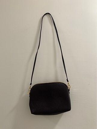 H&M Siyah Askılı Çanta