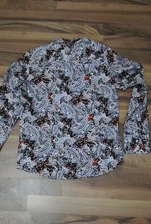 42 Beden çeşitli Renk desenli gömlek