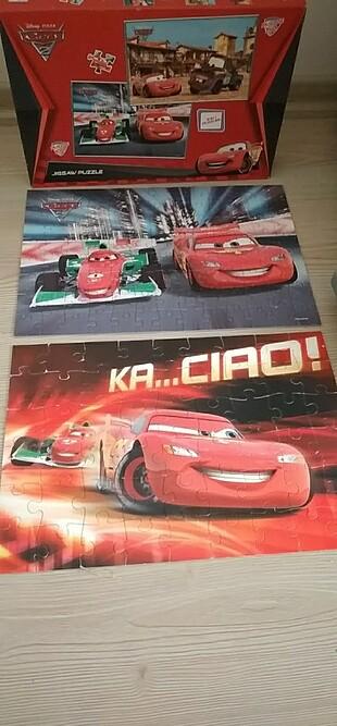 Disney pı×sar cars 2 2 ın1 puzzles