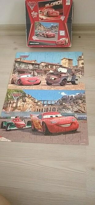 Puzzle 150 parça .disney.pıxar. cars.2.
