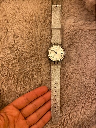 Swatch GM416C Simli Silikon Kordonlu Saat