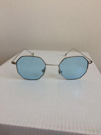 Retro altıgen moda gözlük