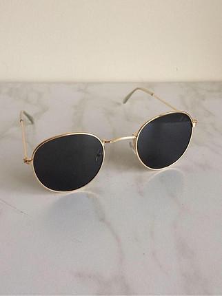 Retro gold gözlük
