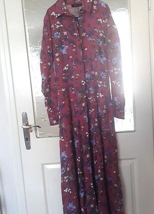 Refka Tesettür Giyim Çiçekli elbise