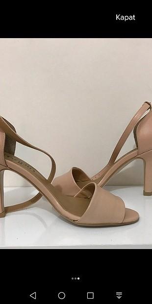 sandalet topuklu